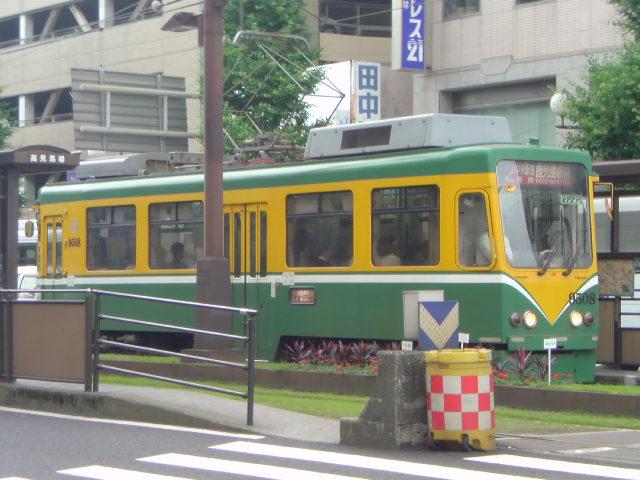 路面電車、不思議、楽しい!